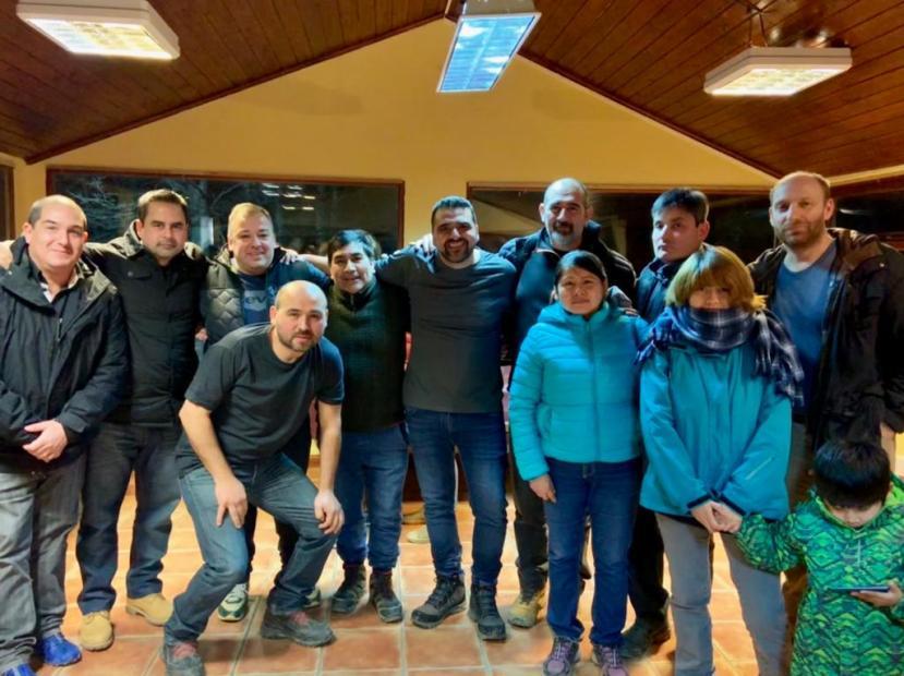 encuentro con vecinos de Andorra 1