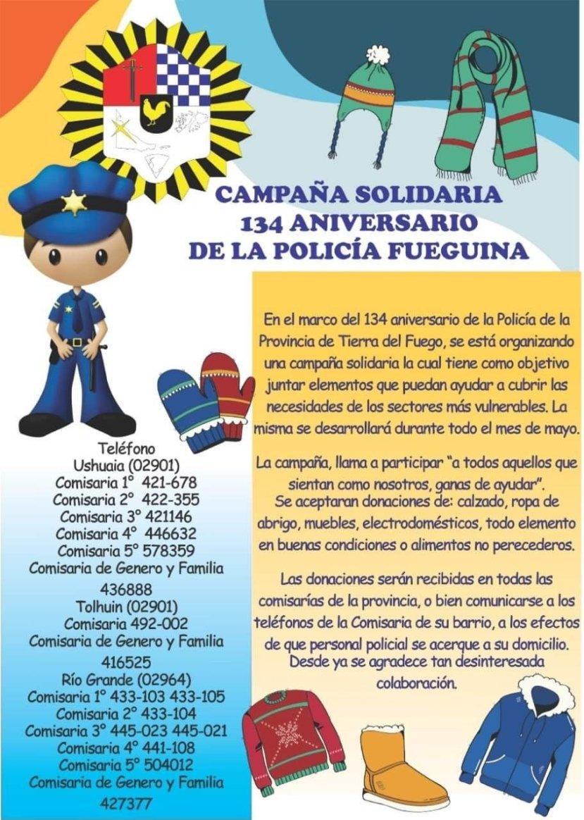 flyer policia provincial